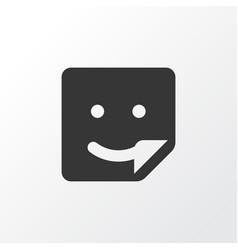 Sticker icon symbol premium quality isolated chat vector