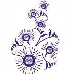 ornament vector image