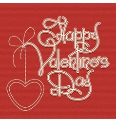 Happy Valentines Day Theme vector image vector image