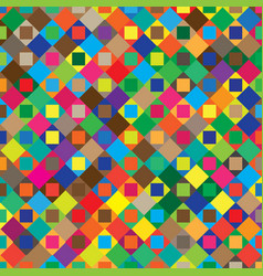 abstract geometric pattern with colorful elements vector image