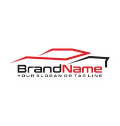 Automotive logo design for companies vector