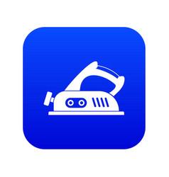 jack plane icon digital blue vector image