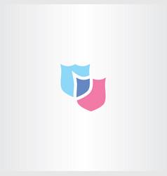 shield logo clip art icon vector image