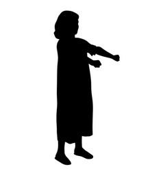 sleepwalker girl vector image