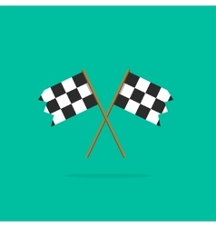 Finish flags icon vector image vector image