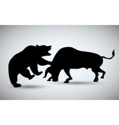Stock exchange icon design vector image
