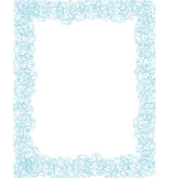 background frost on the window vector image