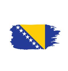 Bosnia and herzegovina flag vector