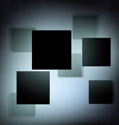 Abstract background of geometric shapes vector