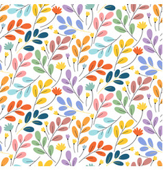 bright exotic flower pattern perfect for desktop vector image