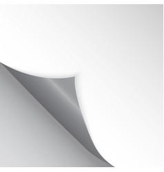 Pattern bent corner for free filling gray vector