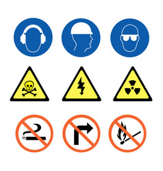security signs vector image