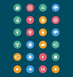 Web and Mobile Icons 4 vector