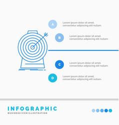 aim focus goal target targeting infographics vector image