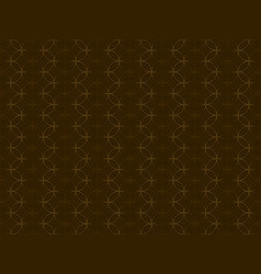 brown background with repetitive circle pattern vector image