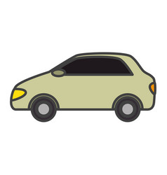Car vehicle sedan icon vector