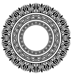 circle frames vector image