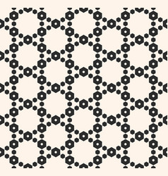 geometric seamless pattern with delicate mesh vector image