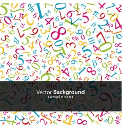 Math background vector