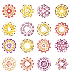 abstract design element vector image vector image