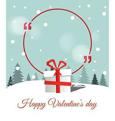 Copy Space for Valentines Day vector image vector image