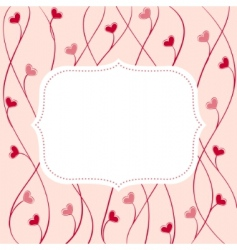 cute frame vector image vector image