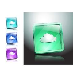 cloud symbol icon sign vector image vector image
