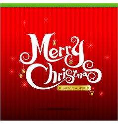 014 Merry Christmas text 004 vector image