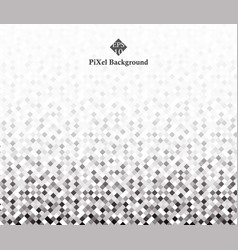 Abstract of greyscale pixel patterns space vector