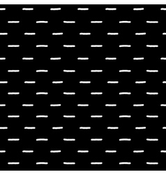 Black and white dash geometric seamless pattern vector