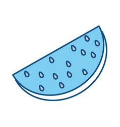 delicious watermelon fruit vector image
