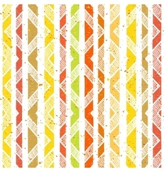 Hand drawn striped colorful seamless pattern vector