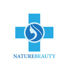 Nature beauty logo vector