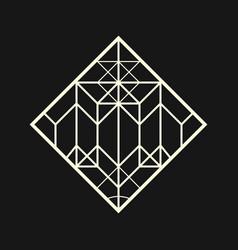 Sacred geometry 0055 vector