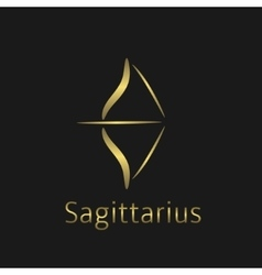 Sagittarius sign vector