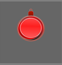 merry christmas frame vector image vector image