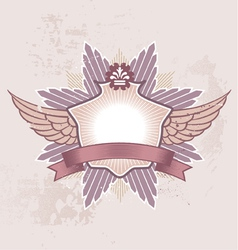 shield badge vector image