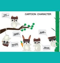 Cartoon character 2 vector
