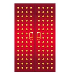 Doors imperial red vector
