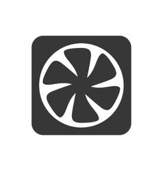 Fan icon Appliance design graphic vector