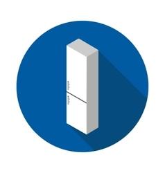 Flat icon refrigerator vector