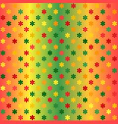 Glowing flower pattern seamless gradient vector