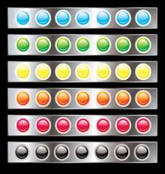light interface vector image