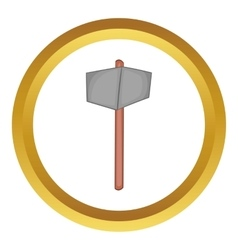 Sledgehammer icon vector