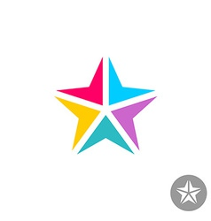 Star logo vector