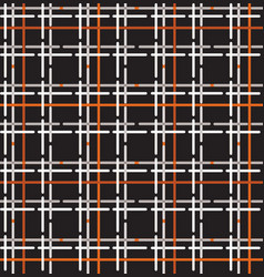 tartan seamless pattern wool fabric ornament vector image