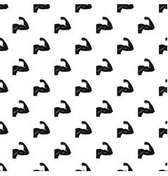 Biceps pattern vector