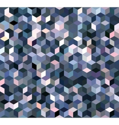 Blue Triangle Abstract Background vector image