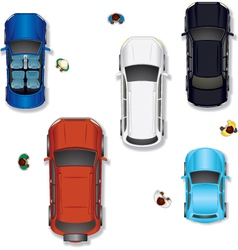 Cars set vector