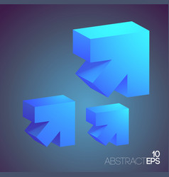 abstract business light concept vector image